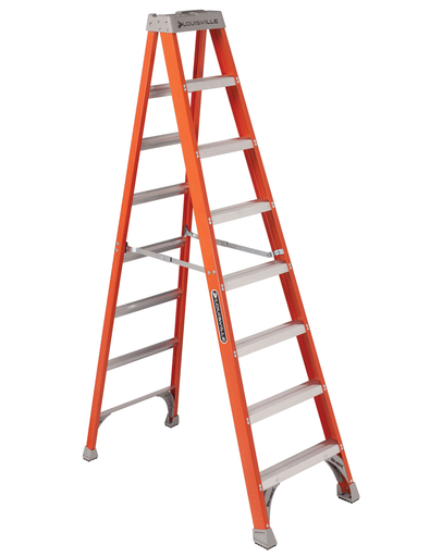 LL FS1508 L-VIL FS1508 8FT FBR LADDER 300LB RATED