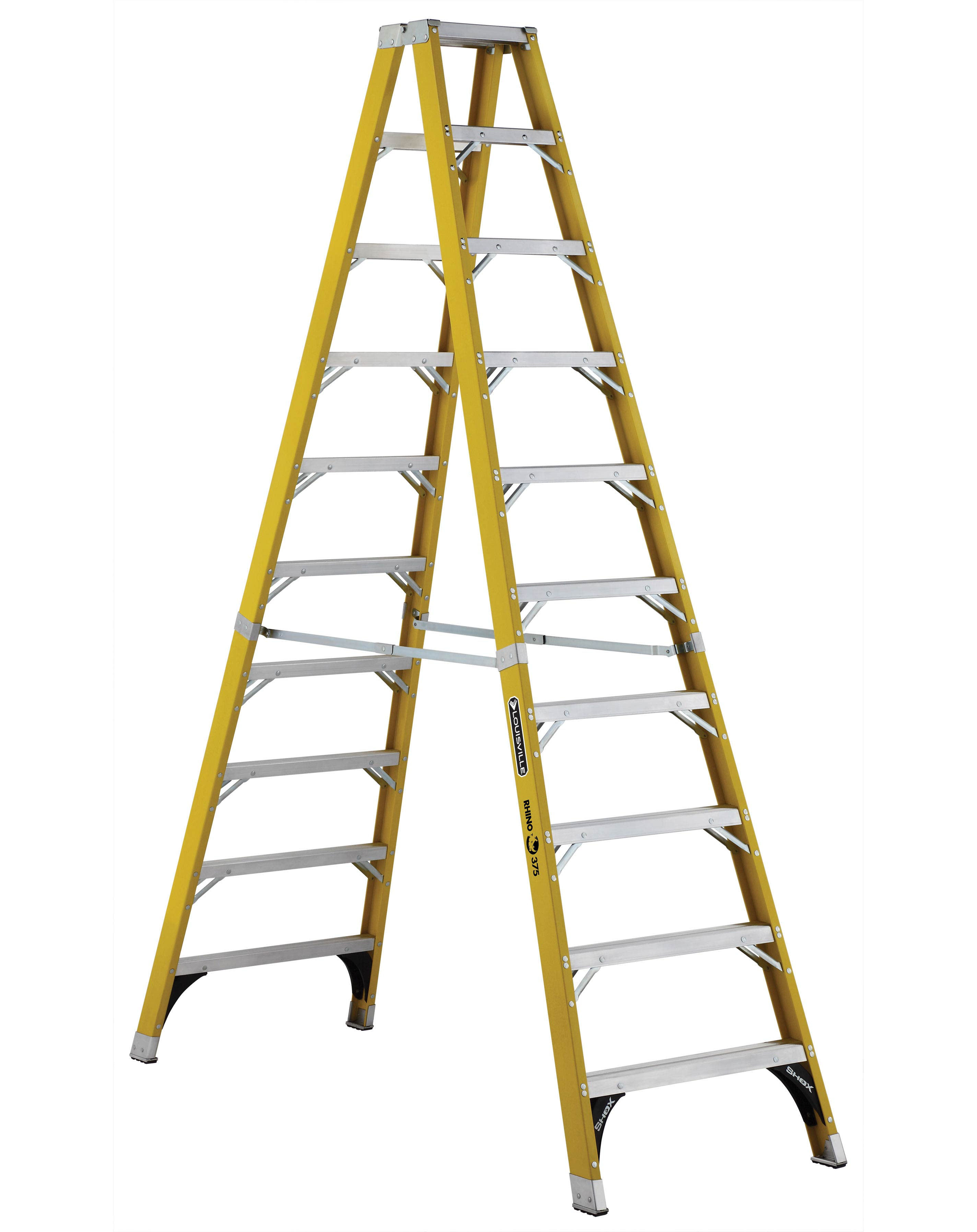 L-VIL FM1110HD 10FT FBGL STP LADDERLIKELY SUBJECT TO TAX