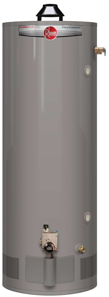 Professional Classic Plus Heavy Duty Atmospheric 75 Gallon Propane Gas Water Heater with 8 Year Limited Warranty