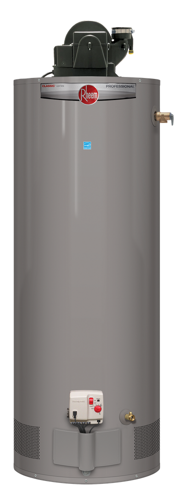 Professional Classic Power Vent 50 Gallon Propane Gas Water Heater with 6 Year Limited Warranty