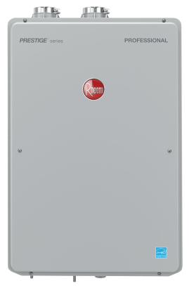 High Efficiency 8.4 GPM Indoor Natural Gas EcoNet Enabled Tankless Water Heater with 12 Year Limited Warranty