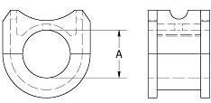 """CHB2206MBR3"""" Style 220 Bronze Hanger Bearing"""