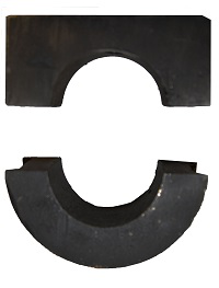 """CHB2164H2"""" Style 216 Hard Iron Hanger Bearing"""