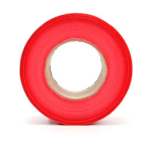 Mayer-Scotch® Barricade Tape 357, DANGER, 3 in x 1000 ft, Red, 8 rolls/Case-1