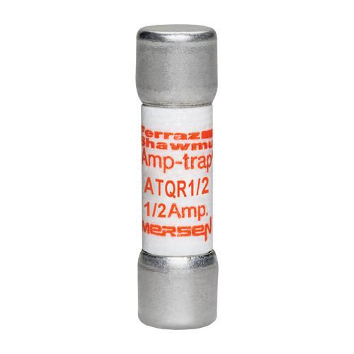 Ferraz Shawmut ATQR1/2 1/2 Amp 600 Volt Glass Melamine Laminated Class CC Rejection Time Delay Fuse
