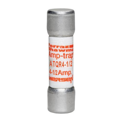 Ferraz Shawmut ATQR4-1/2 4-1/2 Amp 600 Volt Glass Melamine Laminated Class CC Rejection Time Delay Fuse