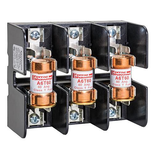 Mersen Ferraz R636 60-30A brass 600V fuse  reducer