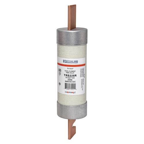 Ferraz Shawmut TRS225R 2-9/16 x 11-5/8 Inch 225 Amp 600 Volt Class RK5 Current Limiting Time Delay Fuse