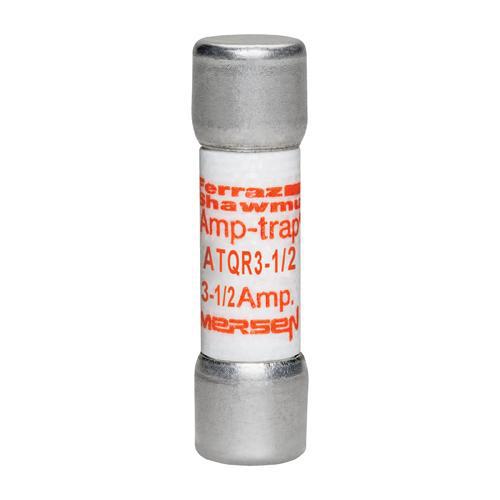 Ferraz Shawmut ATQR3-1/2 3-1/2 Amp 600 Volt Glass Melamine Laminated Class CC Rejection Time Delay Fuse