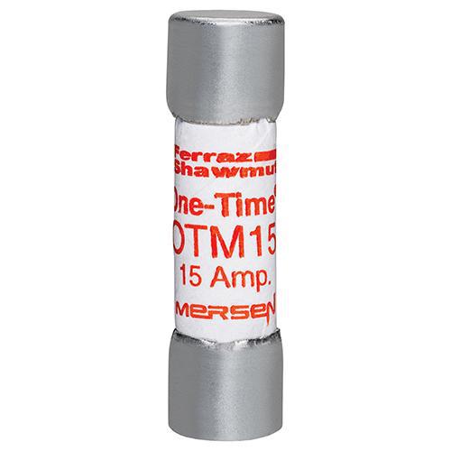 Ferraz Shawmut OTM15 13/32 x 1-1/2 Inch 15 Amp 250 Volt Fast Acting Midget Fuse