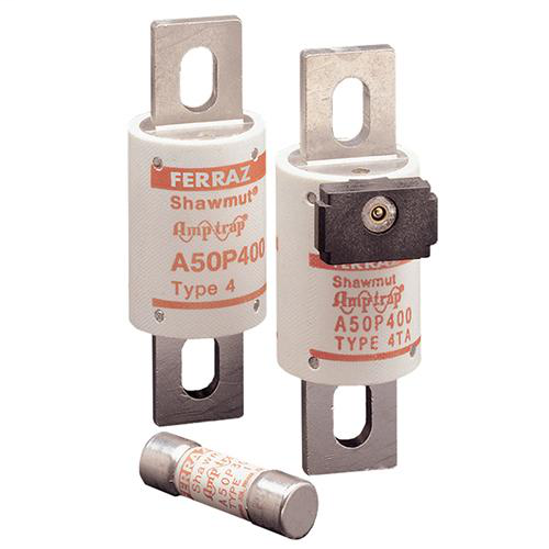 Semiconductor Fuse Amp-Trap® 500V 40A aR High Speed A50P Type 4