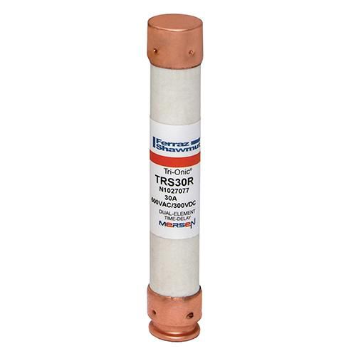 Ferraz Shawmut TRS30R 13/16 x 5 Inch 30 Amp 600 Volt Class RK5 Current Limiting Time Delay Fuse
