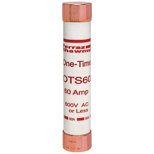 Ferraz Shawmut OTS60 1-1/16 x 5-1/2 Inch 60 Amp 600 Volt Class K5 General Purpose Fuse