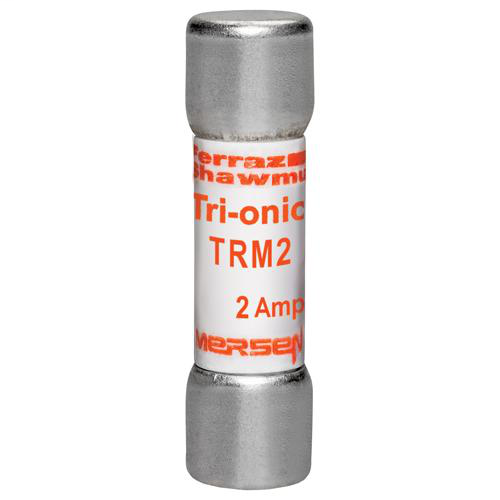 Ferraz Shawmut TRM2 13/32 x 1-1/2 Inch 2 Amp 250 Volt Time Delay Midget Fuse