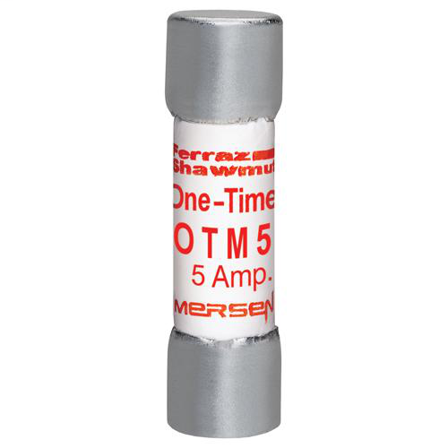 Ferraz Shawmut OTM5 13/32 x 1-1/2 Inch 5 Amp 250 Volt Fast Acting Midget Fuse