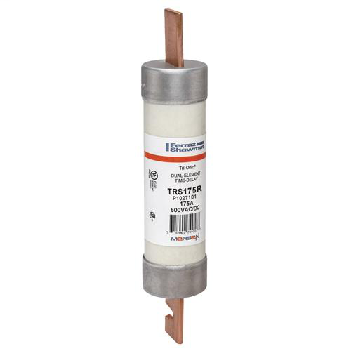 Ferraz Shawmut TRS175R 1-13/16 x 9-5/8 Inch 175 Amp 600 Volt Class RK5 Current Limiting Time Delay Fuse