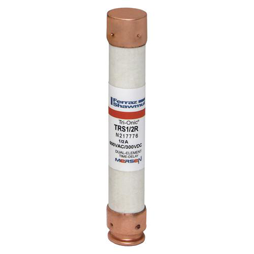 Mersen TRS1/2R 13/16 x 5 Inch 1/2 Amp 600 Volt Class RK5 Current Limiting Time Delay Fuse