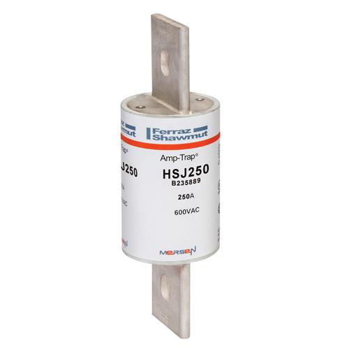 Ferraz Shawmut HSJ250 250 Amp 600 VAC 500 VDC Class J High Speed Fuse