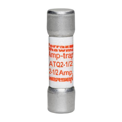 Ferraz Shawmut ATQ2-1/2 2-1/2 Amp 500 Volt Glass Melamine Laminated Time Delay Midget Fuse