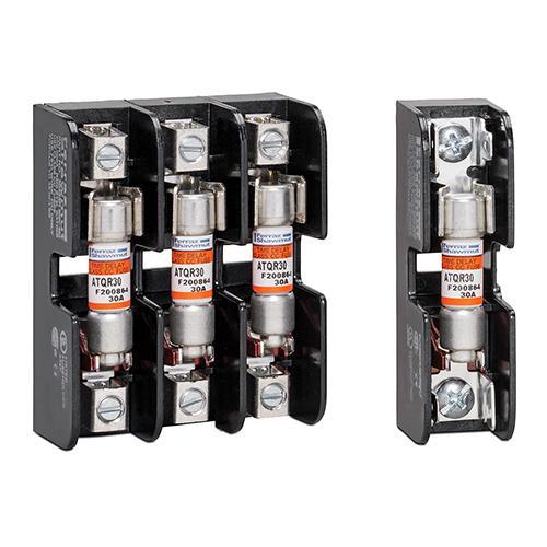 Ferraz Shawmut 30322R 2-Pole 30 Amp 600 Volt Class CC Fuse Block