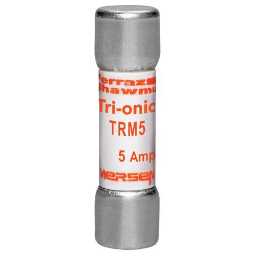 Ferraz Shawmut TRM5 13/32 x 1-1/2 Inch 5 Amp 250 Volt Time Delay Midget Fuse