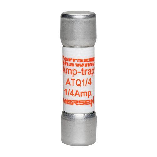 Ferraz Shawmut ATQ1/4 1/4 Amp 500 Volt Glass Melamine Laminated Time Delay Midget Fuse