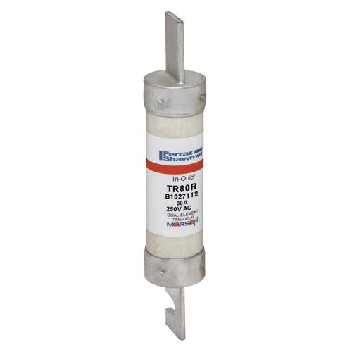 Fuse Tri-Onic® 250V 80A Time-Delay Class RK5 TR Series