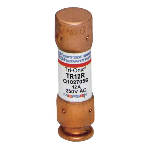 Fuse Tri-Onic® 250V 12A Time-Delay Class RK5 TR Series