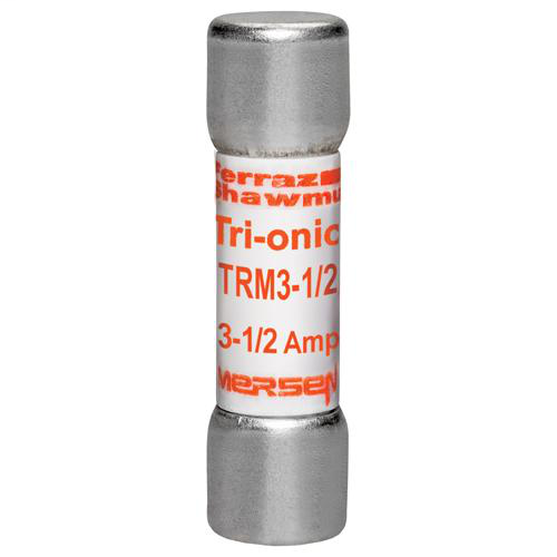 Fuse Tri-Onic® 250V 3.5A Time-Delay Midget TRM Series