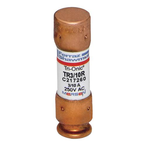 Fuse Tri-Onic® 250V 0.3A Time-Delay Class RK5 TR Series