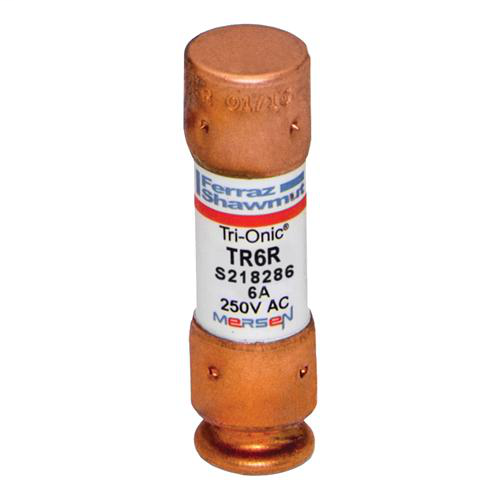 Fuse Tri-Onic® 250V 6A Time-Delay Class RK5 TR Series
