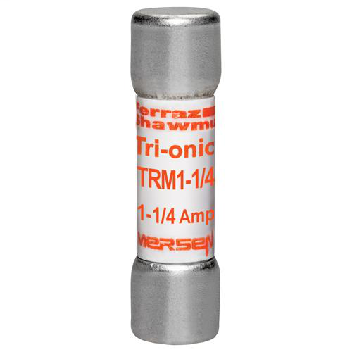 Fuse Tri-Onic® 250V 1.25A Time-Delay Midget TRM Series
