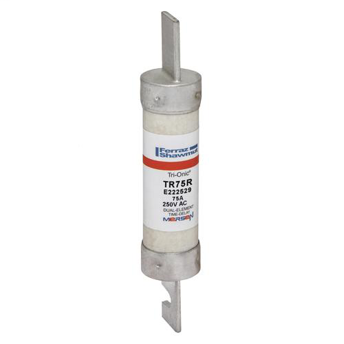 Fuse Tri-Onic® 250V 75A Time-Delay Class RK5 TR Series