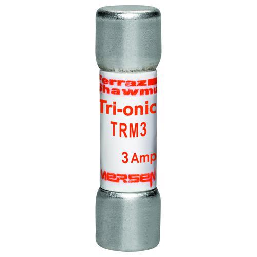 Fuse Tri-Onic® 250V 3A Time-Delay Midget TRM Series