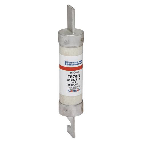 Fuse Tri-Onic® 250V 70A Time-Delay Class RK5 TR Series