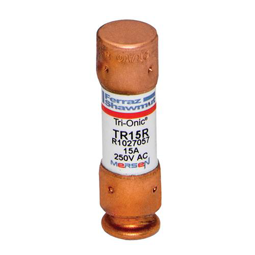 Fuse Tri-Onic® 250V 15A Time-Delay Class RK5 TR Series