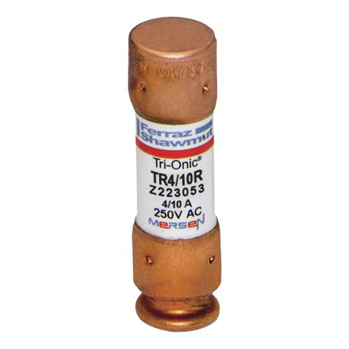 Fuse Tri-Onic® 250V 0.4A Time-Delay Class RK5 TR Series