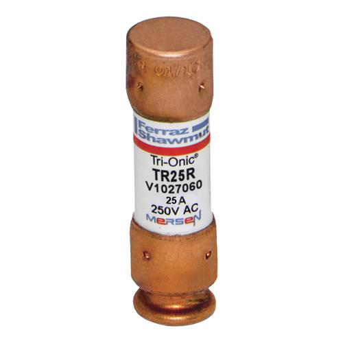 Fuse Tri-Onic® 250V 25A Time-Delay Class RK5 TR Series