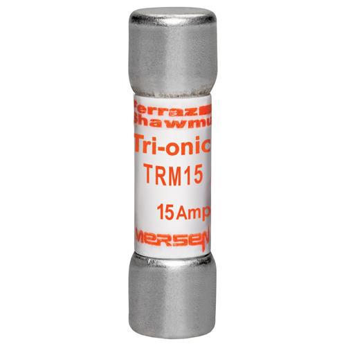 Fuse Tri-Onic® 250V 15A Time-Delay Midget TRM Series