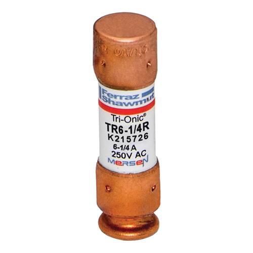 Fuse Tri-Onic® 250V 6.25A Time-Delay Class RK5 TR Series