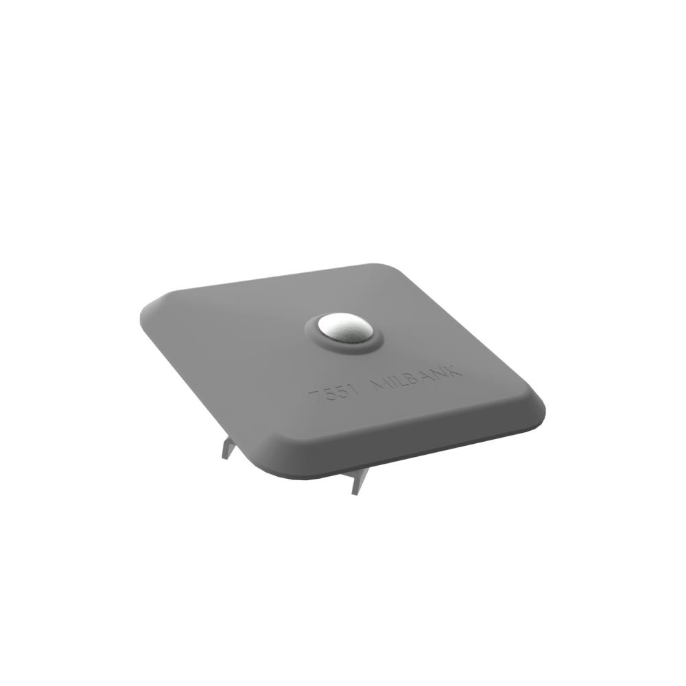 Small Hub Closing Plate - Small Hub Closing Plate Covers up to 2 3/4 Inch Hub Opening - Painted Aluminum