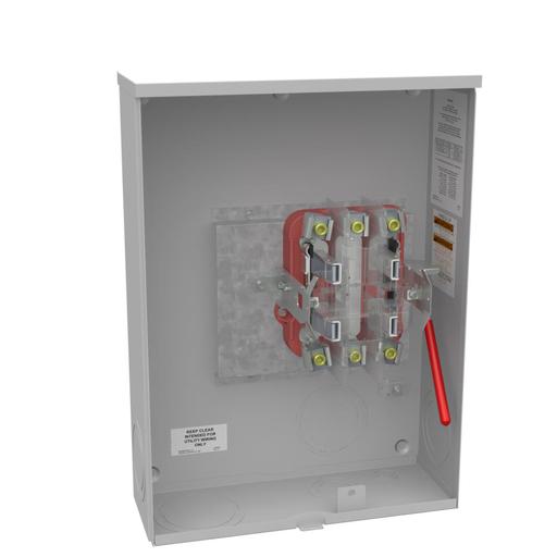 Distribution equipment enclosures meter sockets metering ringless meter socket 575l x 16w x22h 200a 4 terminal plain freerunsca Images