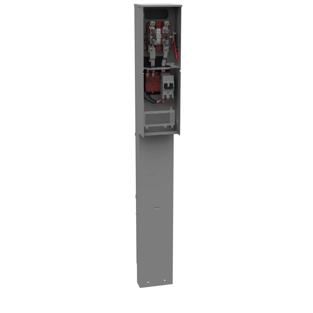MILB U5701-O-200S 200A 4T HD LVR PED