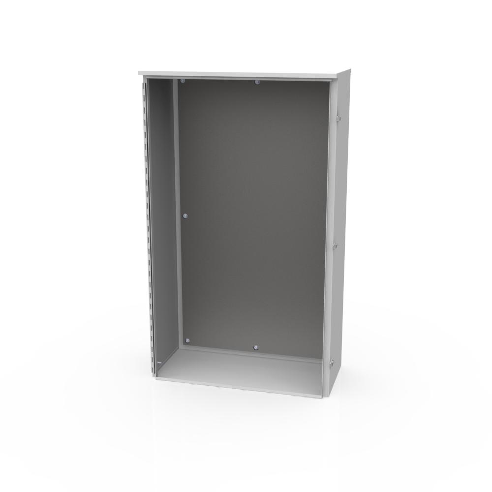 Milbank 543214-TC3R-SP1 54 x 32 x 14 Inch NEMA 3R 14 Gauge Steel Current Transformer Enclosure