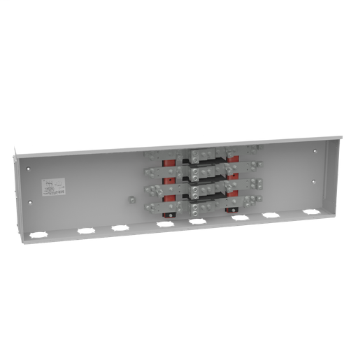 800 Ampere 3 Phase 600 Volt 57in-15in-6in Painted Steel Lift Off Screw Front 2 Lugs Per Landing - 4-600kcmil 4 Lugs Per Landing - 1/0-250kcmil 42k Ampere Interrupting Capacity