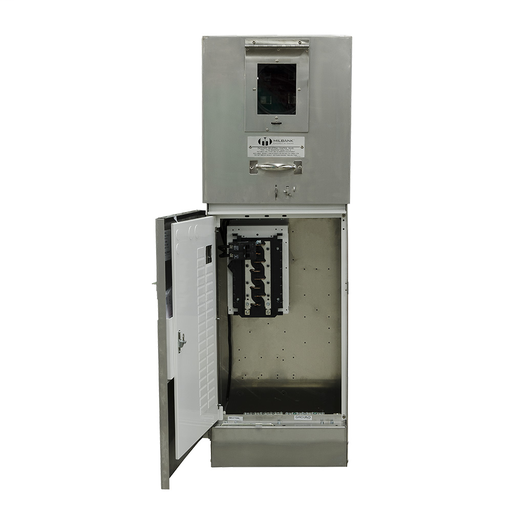 Ring Type 100 Amperes 240 Volt 4 Terminal Main Circuit-breaker 16 Circuit Loadcenter Stainless