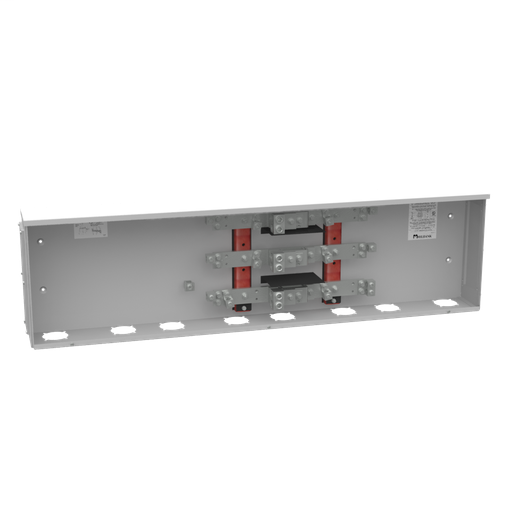 800 Ampere 1phase 600 Volt 57in-15in-6in Painted Steel Lift Off Screw Front 2 Lugs Per Landing - 4-600kcmil 4 Lugs Per Landing - 1/0-250kcmil 42k Ampere Interrupting Capacity