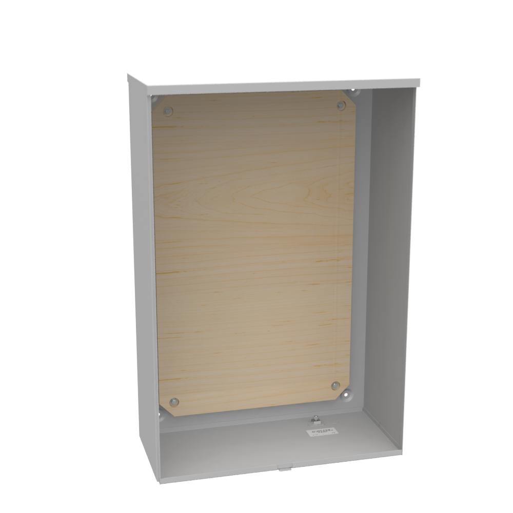 Milbank U9397-O 24 x 36 x 11 Inch NEMA 3R Plywood Current Transformer Enclosure