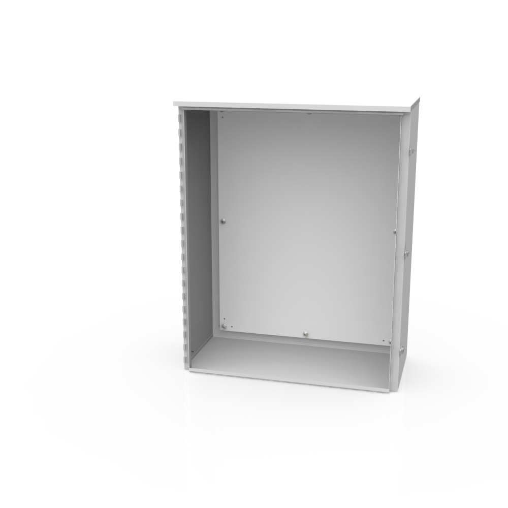 Milbank 403214-TC3R-SP1 40 x 32 x 14 Inch NEMA 3R 14 Gauge Steel Current Transformer Enclosure