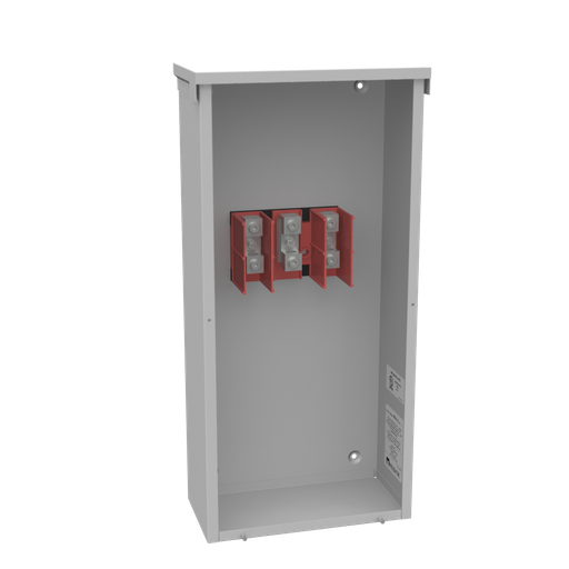 200 Ampere 1phase 600 Volt 12in-26in-6in Painted Steel Lift Off Screw Front 1 Lug Per Landing - 6-250kcmil 1 Lug Per Landing - 6-250kcmil 10k Ampere Interrupting Capacity
